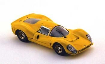 BANG 7103 O SCALE Ferrari 412P Prova yellow