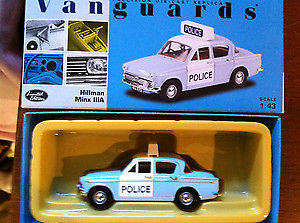 CORGI VANGUARD VA06805 O SCALE Hillman Mx Mk3a Somerset County Constabulary