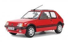 CORGI VANGUARD VA12700 O SCALE Peugeot 205 19 GTI - Cherry Red Limited Edition