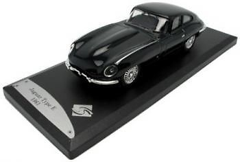 SOLIDO 143102 O SCALE Sixties Golden Years 1:43 E Type Jaguar 1961 Dark Green