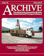 ARCHIVE MAGAZINE ISSUE 76 ISBN: 1352-7991-76