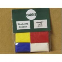 CARR'S C1104 Primary Tints Weathering Powders