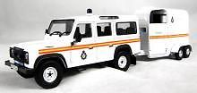 CORGI VANGUARD VA09710 O SCALE L Rover Defender Horsebox Royal Park Constabulary