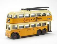 OXFORD DIECAST NQ1003   N SCALE  Q1 BUT Trolleybus Newcastle