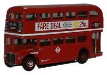 OXFORD DIECAST NRM011 N SCALE London Transport RM1000 Roundel Routemaster