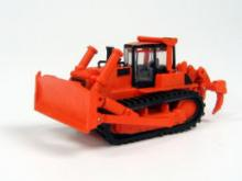 TRAINSAVE TSV323  N SCALE  Komtasu Bulldozer Orange