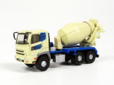 TRAINSAVE TSV326  N SCALE  Concrete Mixer Yellow & Blue